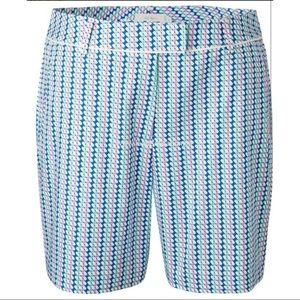 Lady Hagen Ocean Club Basketweave Golf Shorts NWT